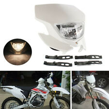White Dirt Bike Motorcycle Headlight For Yamaha WR450F WR250F YZ YZF TW TTR DR