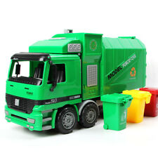 Garbage Truck Trash Bin Vehicles Diecast Model Car 1 32 Toy for Kids Boys Gift