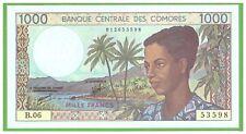 COMOROS - 1000 FRANCS - 1984-2004  - P-11b(2) - UNC  - REAL FOTO