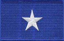 """25 Pcs Blue Flag, Texas Star, Southern Florida Embroidered Patches 3.5x2.25"""""""