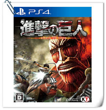 PS4 Shingeki Kyojin ATTACK TITAN JP / EN / 進撃的巨人 中文 Sony Games Action Koei Tecmo