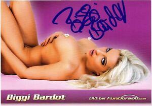 Biggi Bardot *** Model *** Original signiert *** # 574