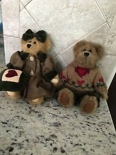 2 Bears The Boyds Collection #1364 Brown 1990-1997 Jointed See Description
