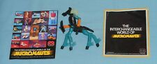 vintage Mego Micronauts alien CENTAURUS complete with bow & shield & 2 brochures