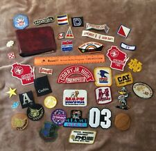 No Reserve! 38 Patch Lot Of Bulk /Resell & Junk Patches CHEAP! Lot #7623C
