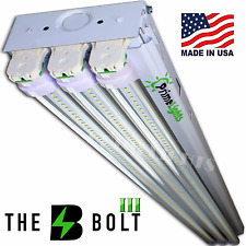 66W LED SHOP LIGHT 5000K Daylight 4FT Fixture Utility Ceiling Light USA MADE