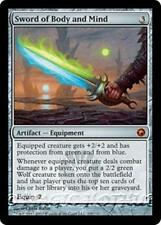 SWORD OF BODY AND MIND Scars of Mirrodin MTG Artifact — Equipment MYTHIC RARE +1