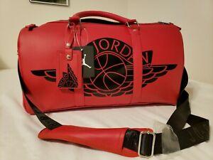 Air Jordan All Leather Duffle Bag
