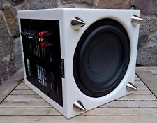 Canton SUB 600 SC * Aktiver Subwoofer weiß Hochglanz * High End Downfire ab 30Hz