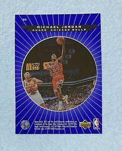 1996-97 UD3 Superstar Spotlight #S5 Michael Jordan