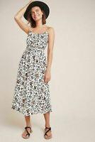 NEW Anthropologie Corey Lynn Calter Arabella Dress Leopard Print SZ Small S 4-6