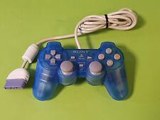 Transparent Bleu Officiel Sony Playstation 1 PS1 Analogique Contrôleur Comité phytosanitaire permanent - 110