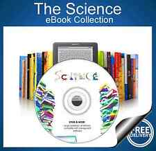 The Science eBook Collection for Kindle Kobo eReader DVD over 450 Books!