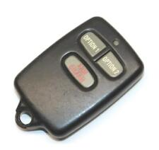 Security System Arm & Disarm 3-Button Key Fob Wireless Handy Remote Controller