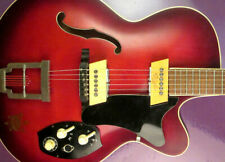 Rare 1964 HOYER Thinline electric. vintage Archtop. Jazz-gitarre guitar