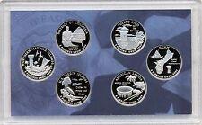 2009 Unc US Mint District of Columbia & US Territories Quarters Proof Set MIB