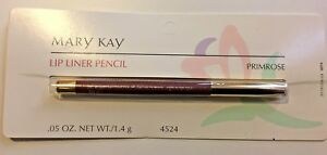 Mary Kay Lip Liner Pencil, Primrose, .05 oz, New on Card, #4524