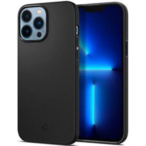 Schutzhülle Spigen Thin Fit iPhone 13 Pro Max, Schwarz