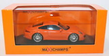 Voitures, camions et fourgons miniatures orange MINICHAMPS pour Porsche