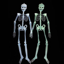 Halloween Props Luminous Human Skeleton Hanging Decorations Outdoor Party Decor