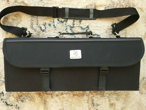 MERCER Culinary Knife Carrying Case 13 Knives plus more pockets