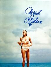 Hand Signed 8x10 photo URSULA ANDRESS - DR NO - Honey Rider 007 James Bond + COA