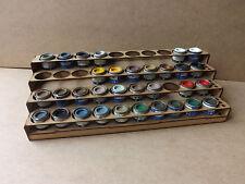 Paint Stand 40 Tins rack storage Humbrol Revell Enamel, wargame warhammer airfix