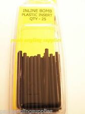 CJ Yellow Label ECO In line Mould Plastic Insert Tubes pack 25