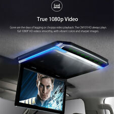 "10.2""  Flip Down Roof Mount Monitor Overhead LCD Car Multimedia Video FM HDMI"
