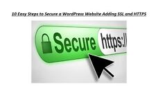 10 Easy Steps to Secure a WordPress Website Adding SSL and HTTPS