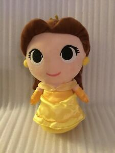 "Disney Funko Beauty & The Beast Super Cute BELLE 8"" Plushies"