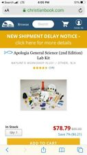 Exploring Creation With General Science 2nd Ed Lab Kit Apologia - Homeschool
