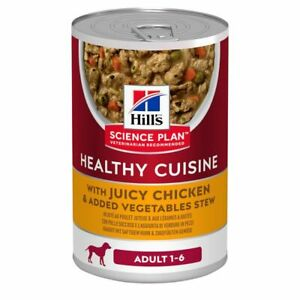 Hill's Science Plan Adult 1-6 Healthy Cuisine Stews Chicken & Vegetables