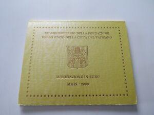 COFFRET BU EUROS VATICAN 2009