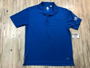 Callaway Aggregate Industries Train Employee Golf Polo Shirt Ready Men Large L🔥