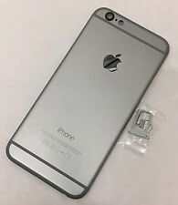 Nuevo iPhone 6 Negro Gris espacial carbón reemplazo Carcasa Posterior Batería Cubierta