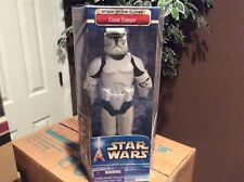 """Star Wars AOTC Collection 12"""" CLONE TROOPER MIB Rare Army Troop Build"""