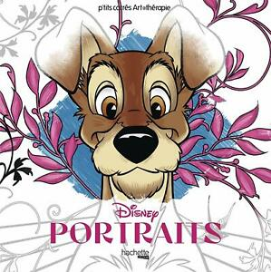 Disney Classics characters Hero Portraits Adult Colouring Book Animals Cute