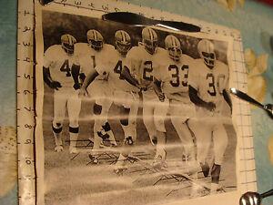 Vintage ORIGINAL Poster: 1972 CLEVELAND BROWNS Super Bowl Photo Elliott Ser. Co.