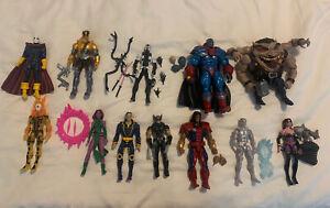 Marvel Legends X-Men Lot (12) - Apocalypse, Sugarman BAF, Deadpool, Iceman
