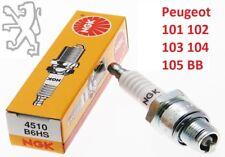 BOUGIE NGK PEUGEOT 101 102 103 104 105 BB GT10 GL10 B6HS MOBYLETTE SP VOGUE SPX