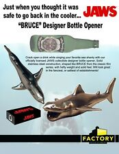 Jaws - Stainless Steel Bottle Opener Factory Entertainment Bruce SHARK WEEK