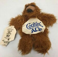 "Vintage 1988 ALF Plush Hand Puppet ""Cookin with ALF""  Plush Pretend Play A5D"