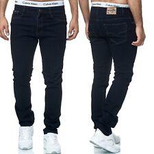 Herren Jeans Hose Stretch Übergröße Übergrößen 5 Pocket Jeanshose Blau Schwarz