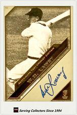 2011 Heritage Test Cricket Captains Blue Facsimile Signature #32: Bill Lawry