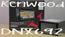 KENWOOD DNX692 NAVIGATION RECEIVER W / BUILT IN BLUETOOTH HD RADIO DNX692