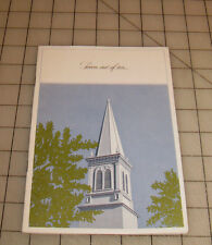 Vintage FOREST LAWN MEMORIAL PARKS California Cemetary - Funeral Home Booklet