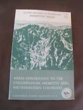 Studies Related to Wilderness Primitive Areas 1977 Southwestern Co Brochure