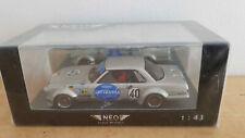 MERCEDES 450 SLC AMG Mampe tests Le Mans 1978 - NEO 1/43