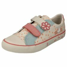 Clarks Leather Upper Wide Shoes Sandals for Girls